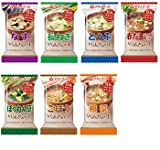 Amano Foods Freeze-dried Miso''miso Soup Itumono 7items 42pcs Food Sets