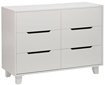 amazon com angel line madison 6 drawer double dresser white baby