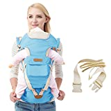 Our safe & fashionable multi-functional baby carrier is the best choice for your little one!  DIGUMI baby carrier is designed to be ergonomic and user-friendly with 10 different carrying positions, comfortable for both adults and baby. Br...