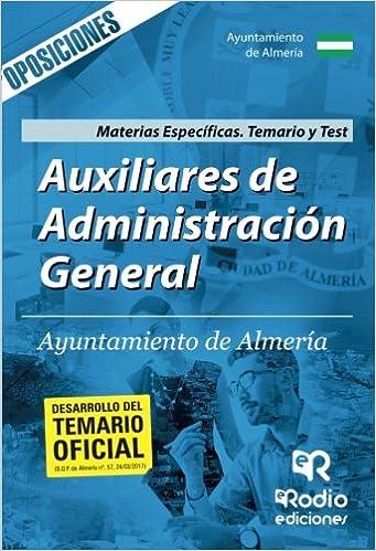 Auxiliares Administrativos del Ayuntamiento de Almeria ...