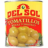 Del Sol Whole Tomatillos - #10 Can
