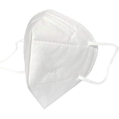 10 mascarillas sanitarias Antipolvo N95 para la Boca, Antipolvo, Reutilizables, Lavables y de contaminación del Aire