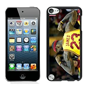 Personalized lebron james 2 Black Customized iPod Touch 5 Phone Case