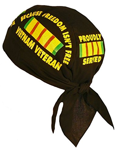 Vietnam-Veteran-Doo-Rag-Cap-USA-Bandana-Skull-Cap-Bumper-Sticker
