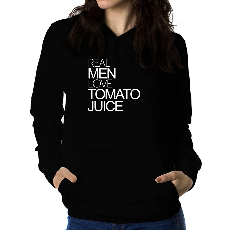 Real men love Tomato Juice Women Hoodie