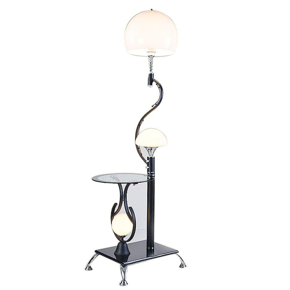 Im europäischen Stil Stehlampe Serie LED-Schmiedeeisen Stehleuchte Einfache moderne kreative Vertikale Stehleuchte Couchtischlampe Wohnzimmer Schlafzimmer Studie Stehleuchte (Farbe wahlweise freigestellt) - Retro-Stehlampe ( farbe : A )