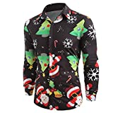 Cheap Ugly Christmas Pullover Sweaters Dress Shirts Tshirt Funny Men Xmas Gift AfterSo