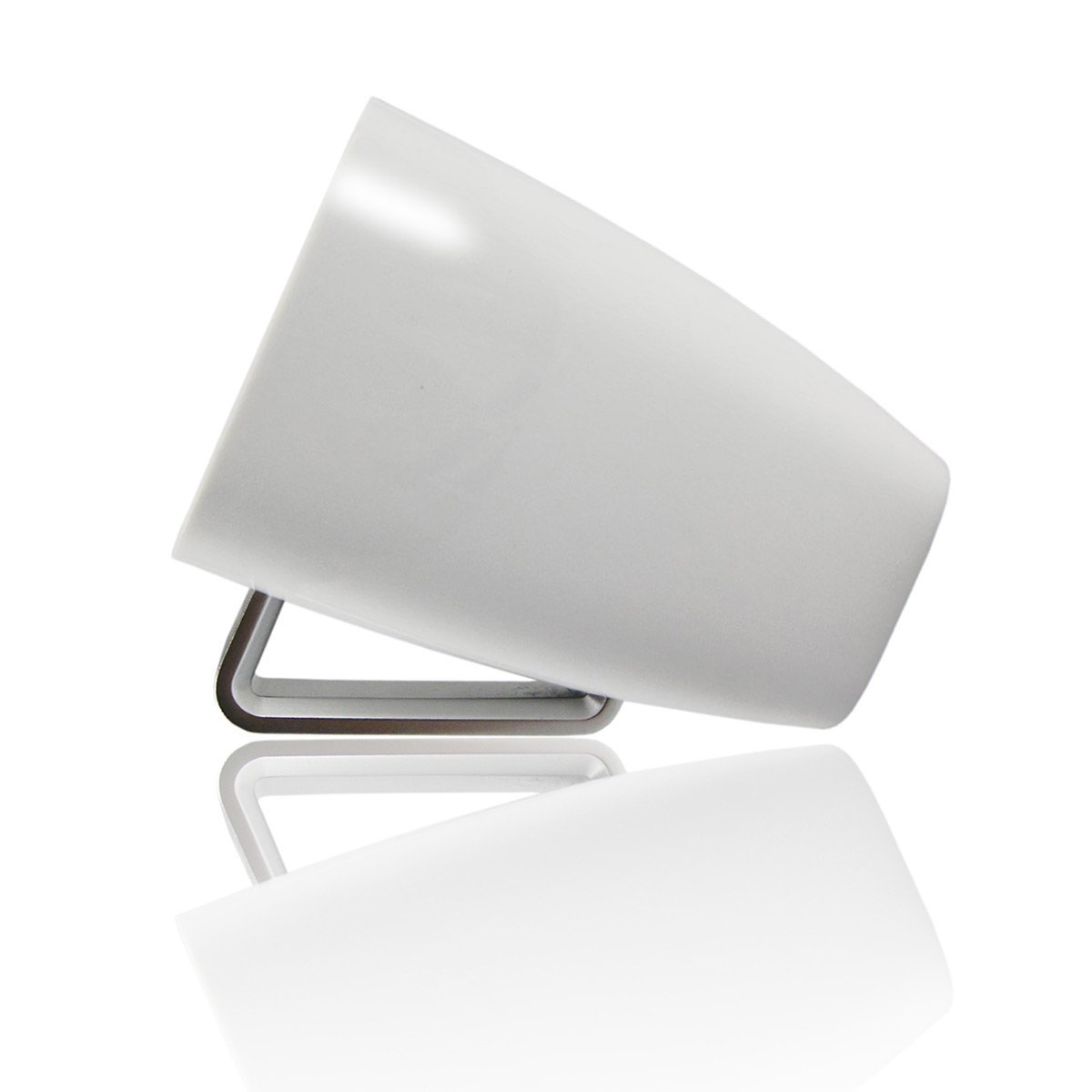 Music Cup Ultra Portable NFC Wireless Bluetooth Speaker - Piano White - Better Sound and Volume - Perfect Holiday Gift