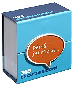 Mini calendrier - 365 excuses bidon