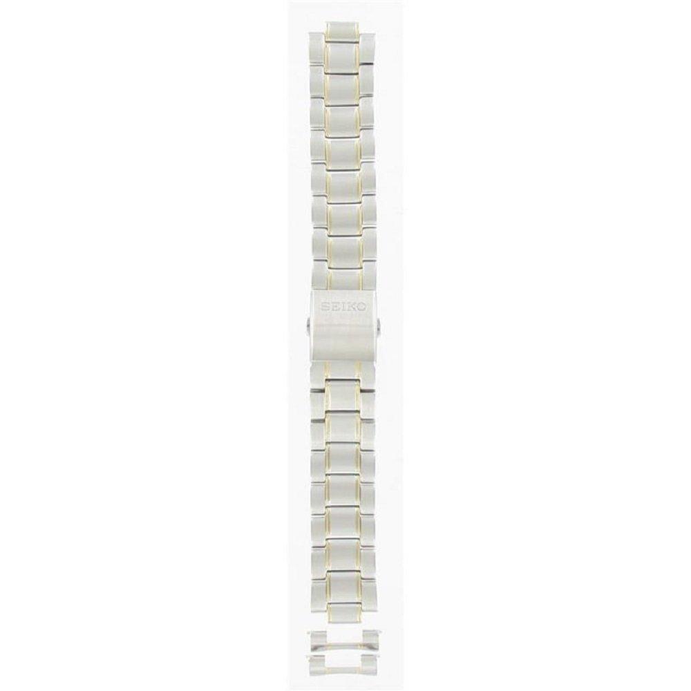 Seiko 20mm Two Tone Stainless Steel Bracelet SNQ008 by Seiko (Image #1)