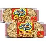 Blue Dragon Medium Egg Noodle Nests 300 gms (Pack of 2)