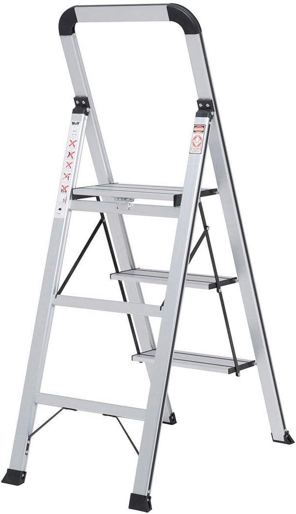 Generic M Fold Slimline St /économiser de lespace Outil S /étape Pliant en Aluminium Slimline St Slimline Step Luminium /Échelle Tabouret Luminium