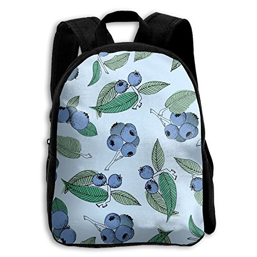 (Pistachio Ricotta Salad Printed Oxford School Bag Kid Double Zipper Closure Casual Shoulder Bags)