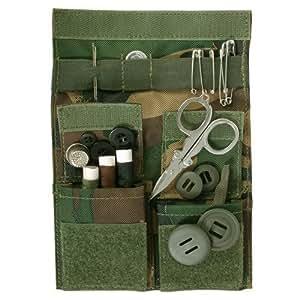 Web-tex Army Field Sol95 - Kit de costura para viajes, estampado de camuflaje