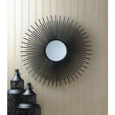 Round Rays Wall Mirror - Frame Sunburst