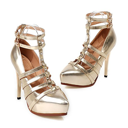 Thin Dancing Shoes Plus Size Platform golden Night Club qfwvHEw