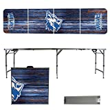 NCAA Cheyney University of Pennsylvania Wolves Weathered Version 8' Folding Tailgate Table