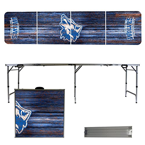 NCAA Cheyney University of Pennsylvania Wolves Weathered Version 8' Folding Tailgate Table by Victory Tailgate
