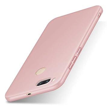 SMTR Xiaomi Mi A1 Funda, Calidad Premium Cubierta Delgado Caso de PC Hard Gel Funda