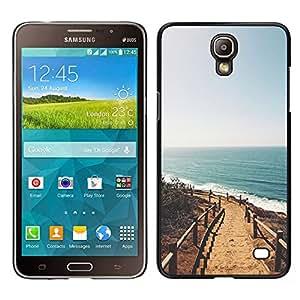 [Neutron-Star] Snap-on Series Teléfono Carcasa Funda Case Caso para Samsung Galaxy Mega 2 [Summer Beach California Sun Ocean]