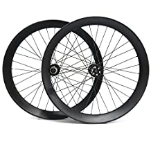 """Hulk-sports Snow Bicycle Wheelset Clincher Carbon Wheels 26"""" 90mm Wider Tubeless Carbon Fat Bike Wheel For Shimano"""