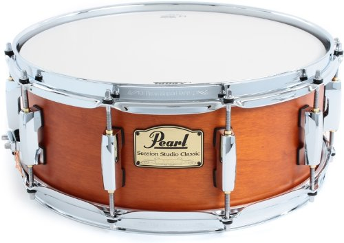 Pearl Session Snare - Matte Liquid Amber