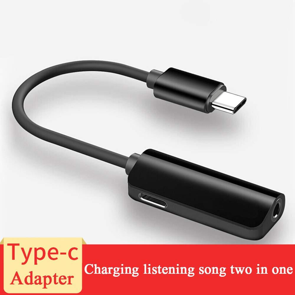 Amazon.com: Adaptador de audio 2 en 1 USB-C a 0.138 in, USB ...