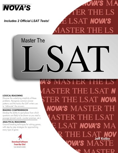 Master the LSAT Includes 2 Official LSATs!