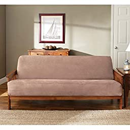 Sure Fit Soft Suede/Sherpa - Futon Slipcover  - Sable (SF36199)