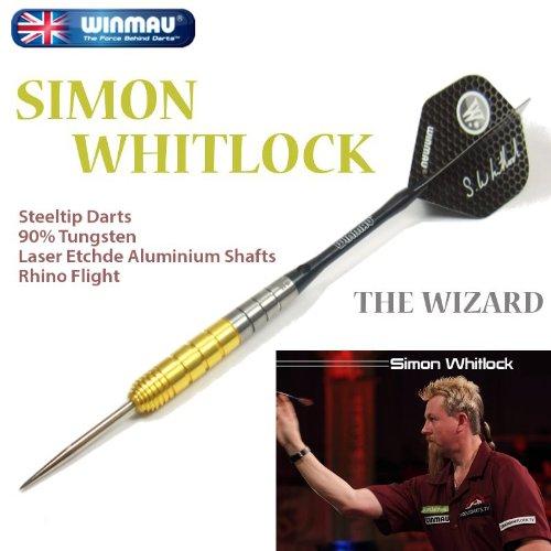 WINMAU SIMON WHITLOCK Steel (サイモン・ウィットロック) ゴールド ハードダーツ/スティールダーツ/バレル/矢