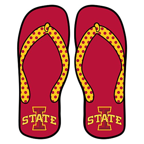 Iowa State Decal I-STATE FLIP FLOP DECAL 6