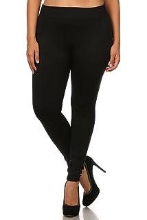 bf0f2ba3c2be0e World of Leggings PLUS SIZE Premium Fleece Lined Leggings - Shop 3 Colors