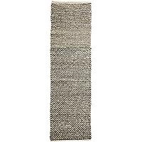 Bloomingville Hand Woven Wool Rug, Grey Mélange