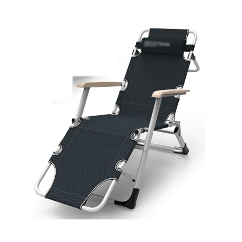 JDGK - ラウンジチェア リクライニングチェア折りたたみベッド釣りリクライニングチェアは昼寝医療旅行ポータブルシングル屋外ビーチチェアを眠ることができます B07T3HYHTK 8974 ハイクオリティ 安全