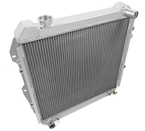 3 Row Radiator, All Aluminum for 1988-1995 Toyota Pickup Trucks. 1988-1995 Toyota 4Runner. Engine application: 3.0 V6 Radiator Manufactured by Champion Cooling Systems, Part#CC50.