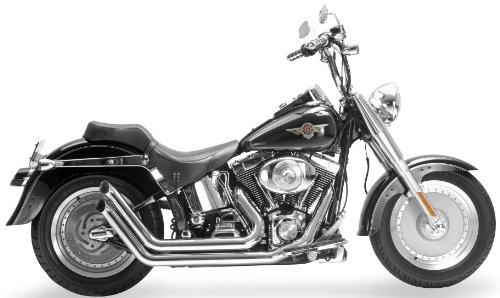 Samson Legend Exhaust Sidewinders Chrome for Harley Softail 86-10 - Samson Legend Series Exhaust