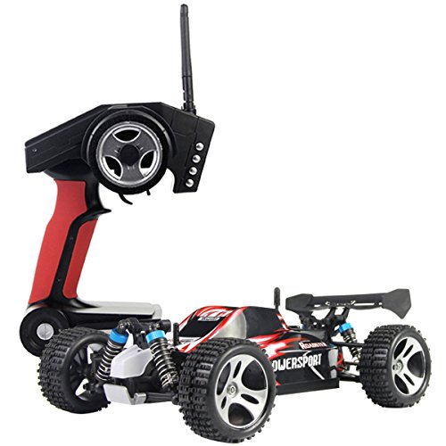 Costzon 1/18 High Speed Scale 2.4G 4WD RTR Off-Road Buggy RC Car Remote Controlled Toys ()