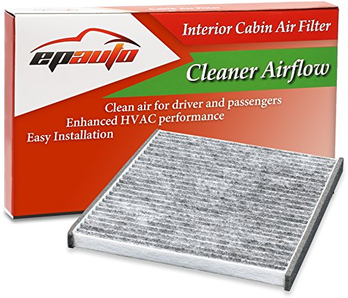 Toyota Parts Sienna - EPAuto CP132 (CF10132) Toyota/Lexus Replacement Premium Cabin Air Filter includes Activated Carbon