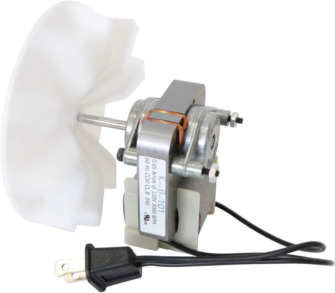 Kitchen Basics 101 Universal Bathroom Vent Fan Motor Replacement Kit | 50 CFM