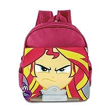 My Little Pony Equestria Girls Sunset Shimmer Kids School Backpack Bag
