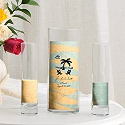 Personalized Sand Unity and Vase Sets - Multiple Designs Available