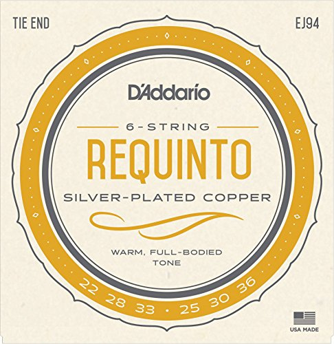 D'Addario EJ94 Requinto Strings (Guitar Strings Daddario Silver)