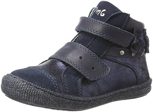 Primigi Ptf 8138, Zapatillas Altas Para Niñas Azul (Blu/blu)