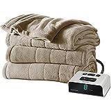Sunbeam Microplush Heated Blanket, Full, Mushroom, BSM9BFS-R772-16A00