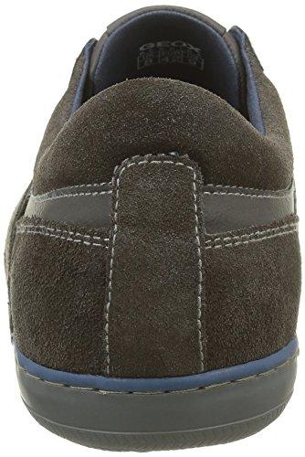 Geox U Box C, Zapatillas para Hombre Braun (MUDC6372)