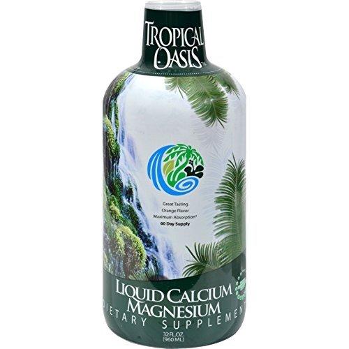 Tropical Oasis Calcium Magnesium Liq 32 ()