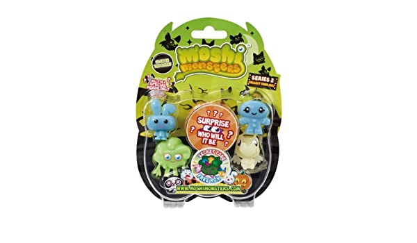 Amazon.com: Moshi Monster Glow in the Dark Halloween Blister Pack: Toys & Games