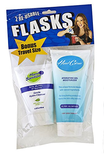 Smuggle Your Booze Hand Creme/Hand Sanitizer Flask Combo pack