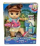 Baby Alive Step 'N Giggle Baby Brown Hair Doll