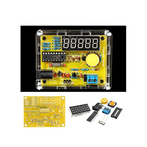TS-905 1HZ-50MHZ Crystal Oscillator Tester Frequency Counter DIY Kits With Case - Frequency Counter Kits